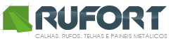 Calhas, rufos, telhas e painéis metálicos - Rufort