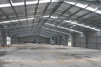 Conserto de telhados industriais